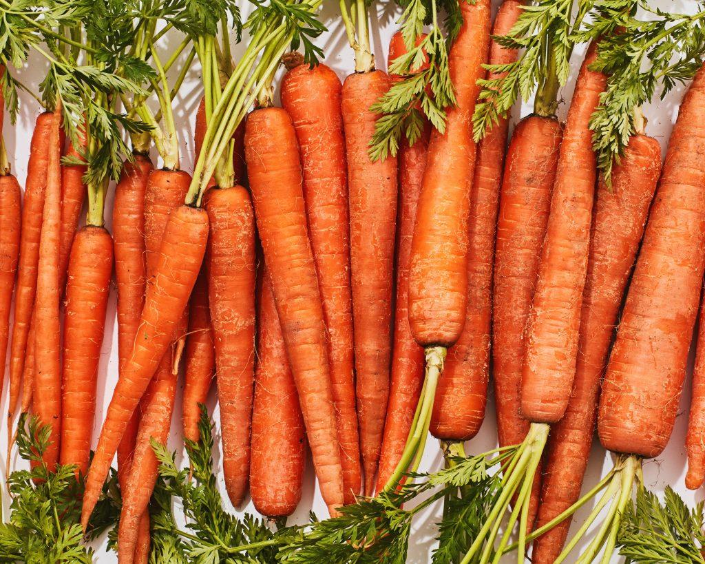 smoothie raňajky a mrkva