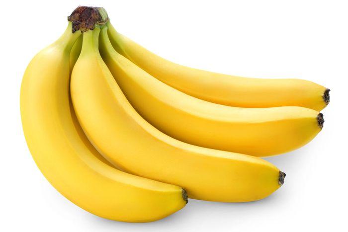 svieže smoothie banány