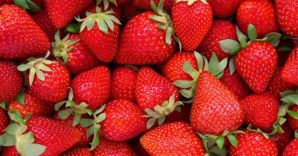 jahody - letné smoothie